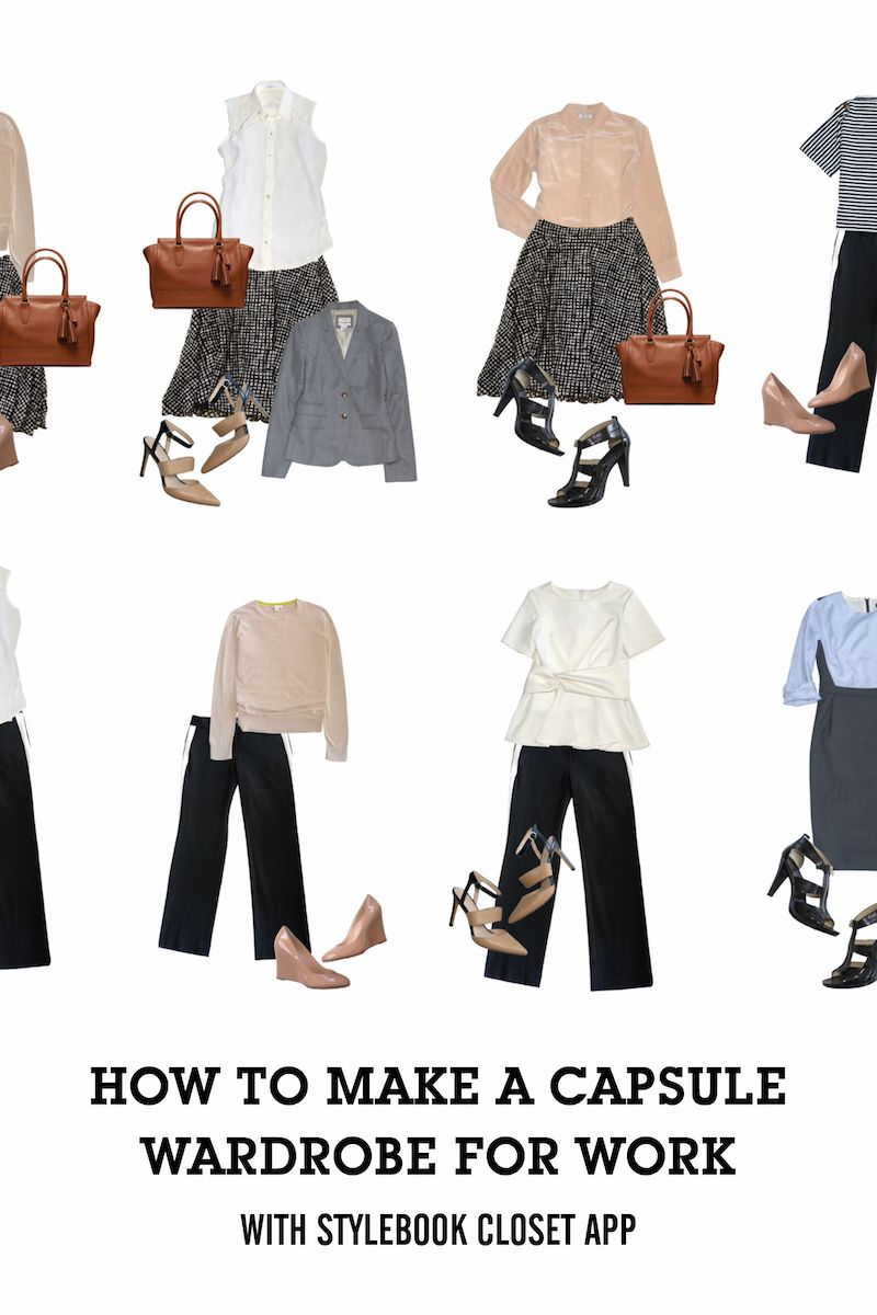 f76181692 Dress Like a Boss | Work Clothes - Office Style Tips | Capsule ...