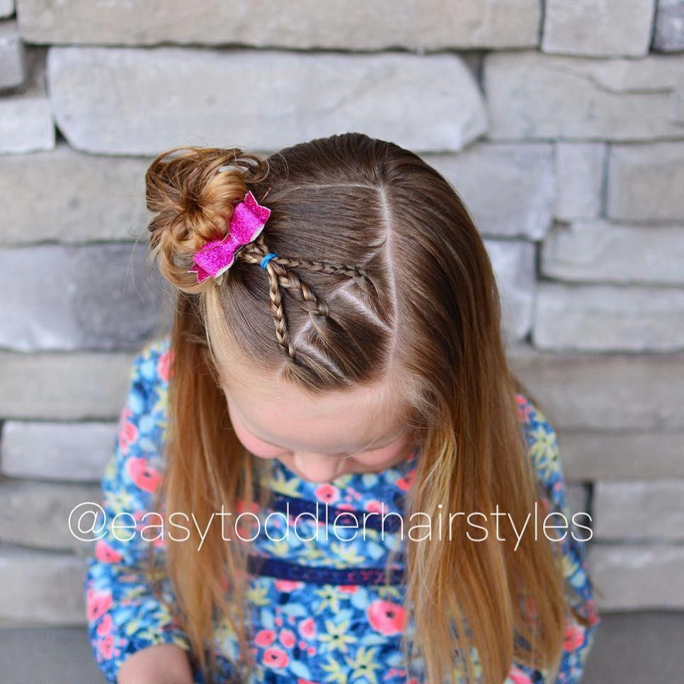 hairstyles for fine hair | easy little girl updos