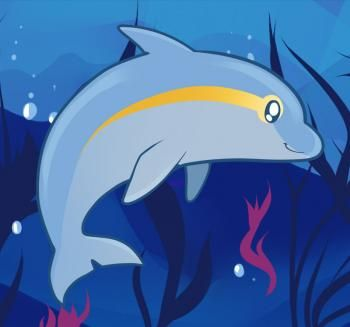 how to draw a dolphin wikihow