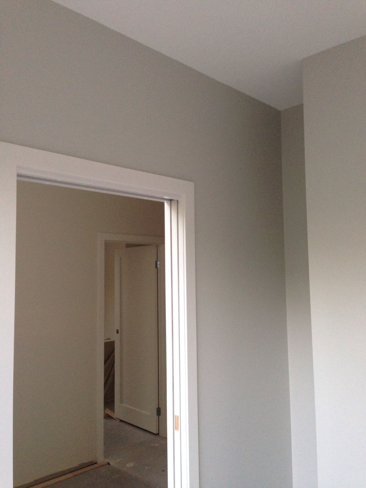 Laundry Painted Taupe Grey Dulux Will Contrast Well With Units