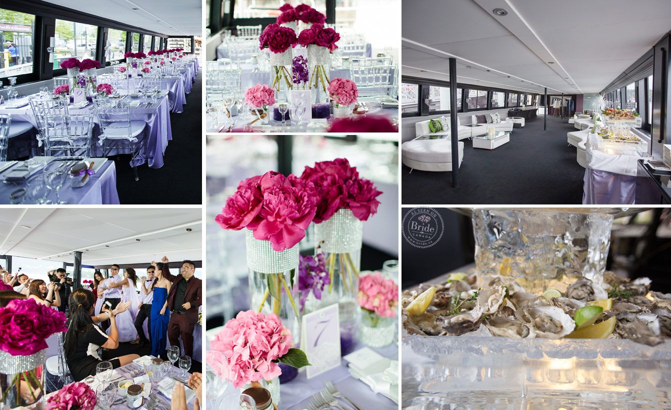 Image result for yacht wedding reception event decor pinterest unique reception spot the wedding yacht in vancouver bc photo by modern romance productions as seen on bride junglespirit Gallery