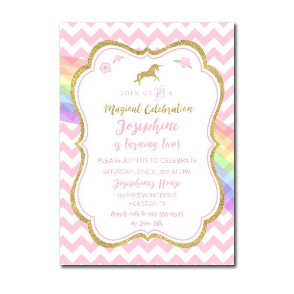Editable pdf birthday party invitation diy magical unicorn editable pdf birthday party invitation diy magical unicorn instant download printable stopboris Image collections