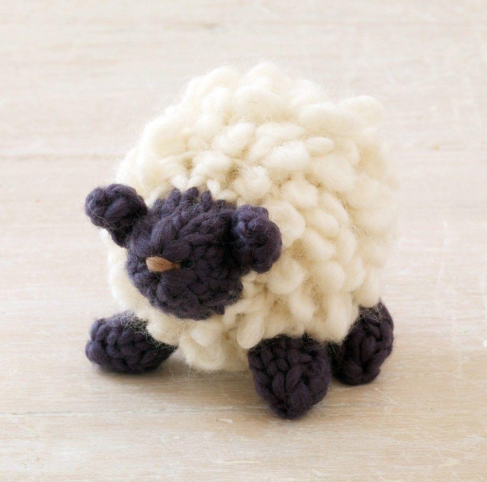 Fluffy Little Sheep Pattern (Knit) | Stuffies | Pinterest | Patterns ...