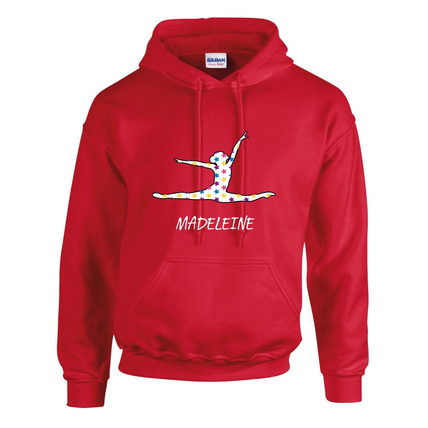 Ileisure Girls Personalised Air Jump Pose Printed Stars Design Hoodie With White Print Hooded Sweatsh Printed Hooded Sweatshirt Hoodie Design Girl Personalized [ 1417 x 1417 Pixel ]