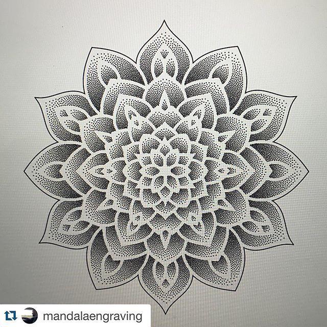 #Repost @mandalaengraving with @repostapp. ・・・ #mandala_sharing