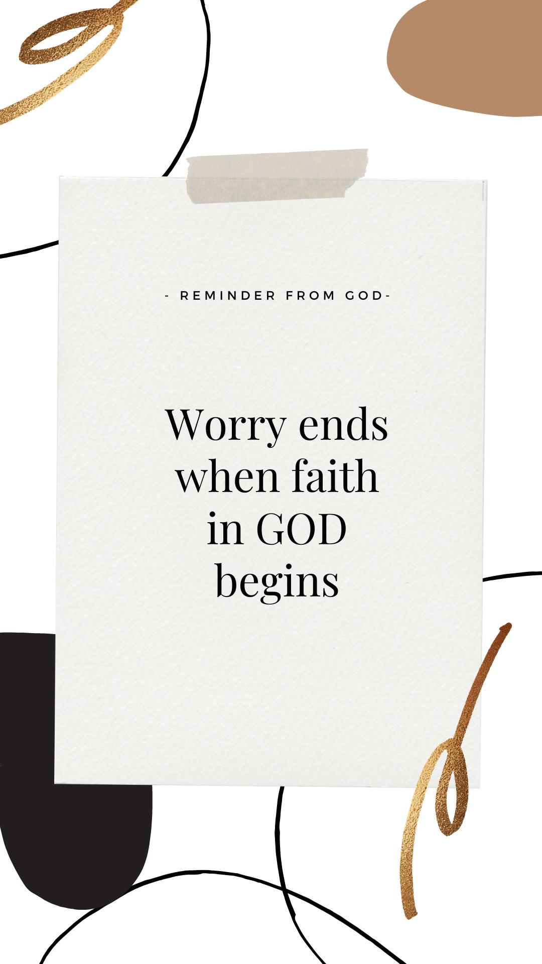 Faith Daily Reminders