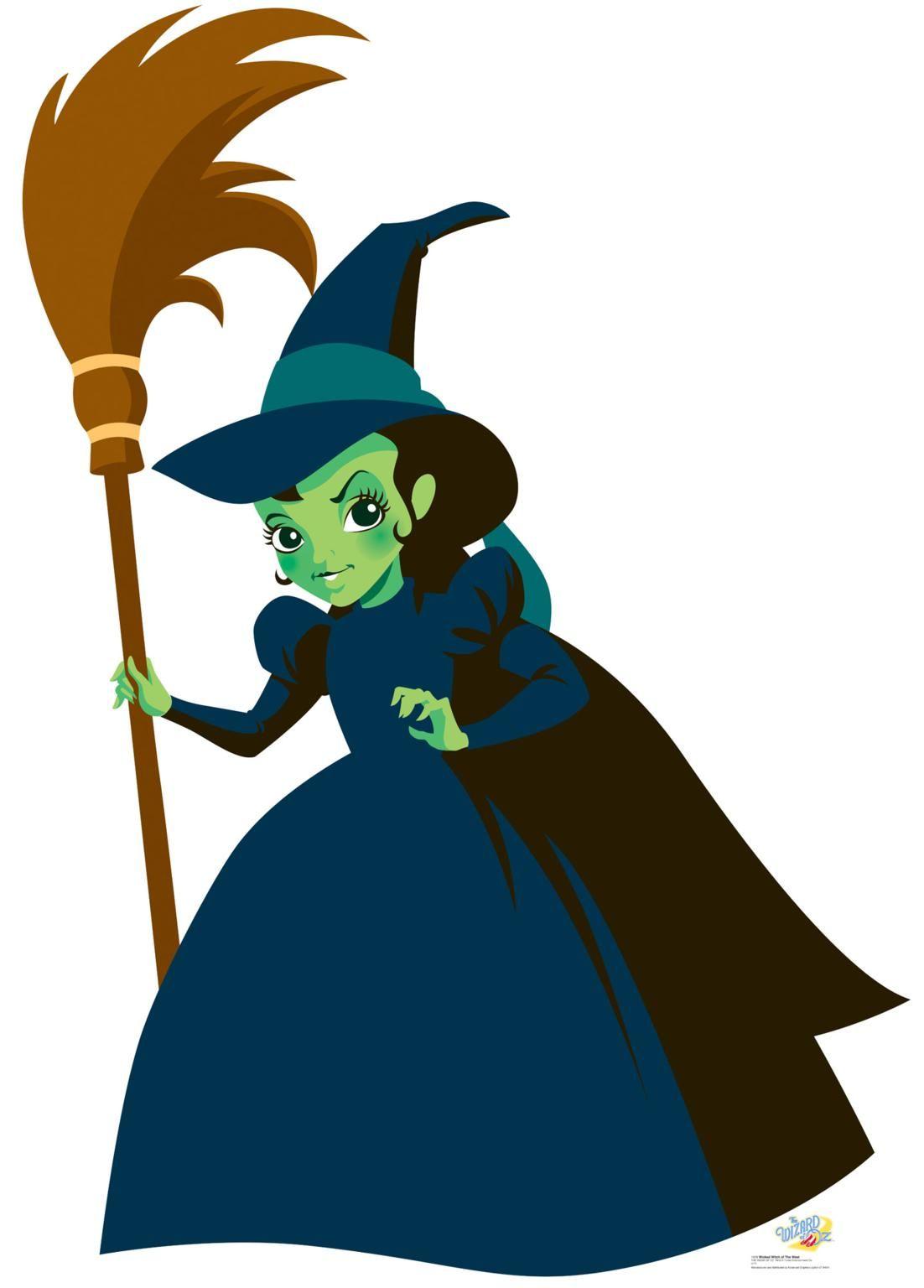 wizard of oz witch clipart 2 clipartix [ 1102 x 1536 Pixel ]