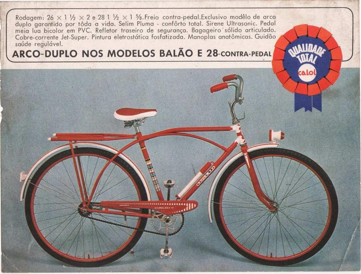 Adesivos Caloi Arco Duplo 1971 Frete Gratis R 25 00