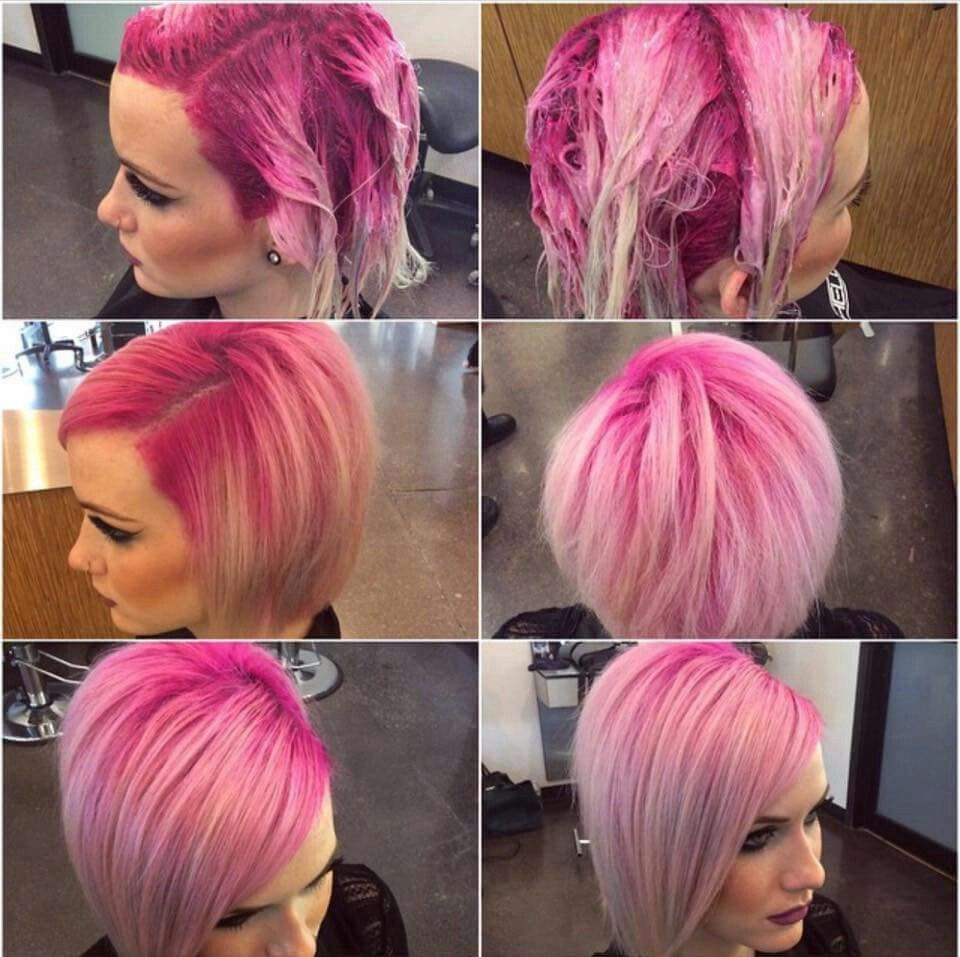 Pink Shadow Root Blonde Hair With Roots Cool Hair Color Bright Hair