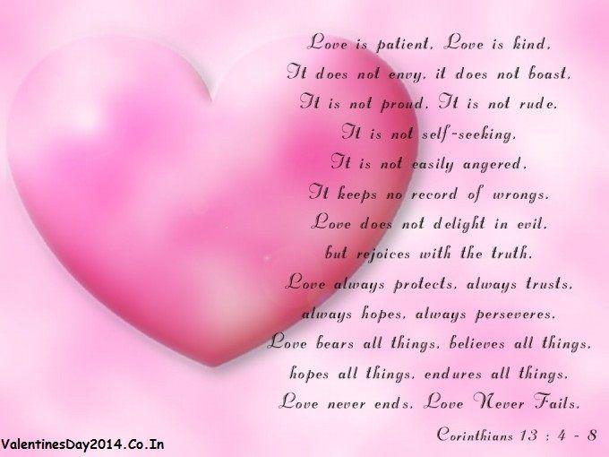 Happy Valentines Day 2014 Romantic Quotes Wallpapers_2 | Happy ...