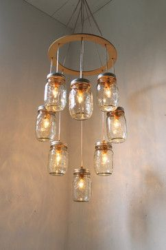 Mason jar chandelier by boots n gus eclectic lighting etsy mason jar chandelier by boots n gus eclectic lighting etsy aloadofball Gallery