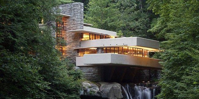 Fallingwater une maison sur la cascade frank lloyd wright - La maison sur la cascade frank lloyd wright ...