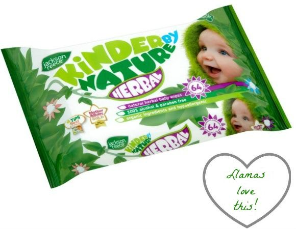 Green product of the week: Kinder By Nature baby wipes - BabaLlama.com
