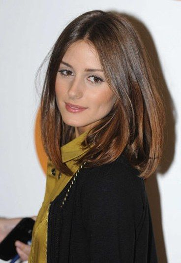 carr long lisse coiffure de star 20 coiffures de stars olivia palermo palermo and haircuts. Black Bedroom Furniture Sets. Home Design Ideas