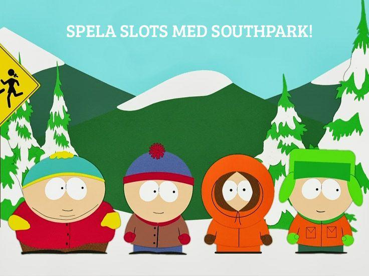Spela med de klassiska fyra karaktärerna http://www.casinon.se/slotsspel/south-park/