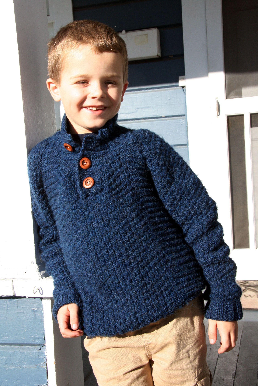 Wyatt by Brooklyn Tweed (Michele Wang). Great pattern for a little ...