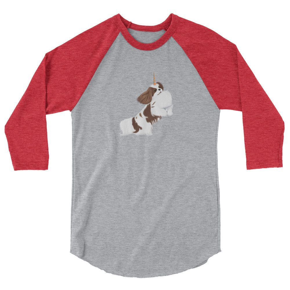 i believe in blenheim cavicorns | unisex baseball tee