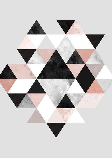 Geometric Quilt Modern Tła Grafika Et Tapety