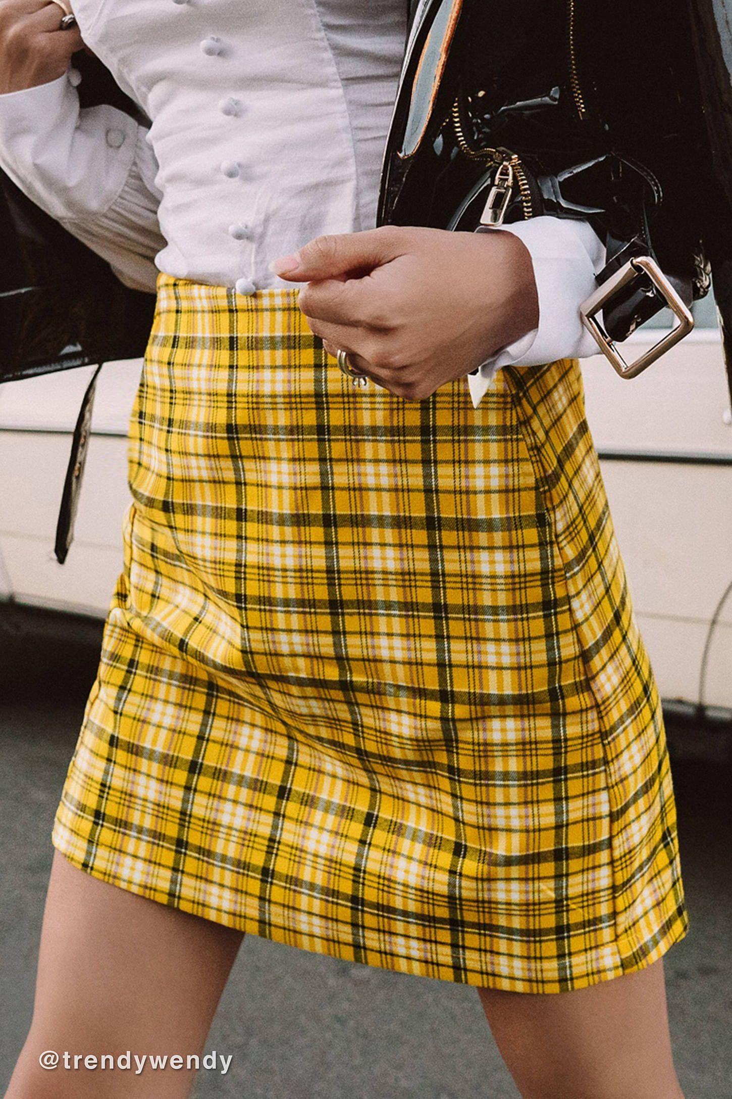 488a165265 UO Colin Plaid Pocket Mini Skirt | {wishlist} | Mini skirts, Skirts ...