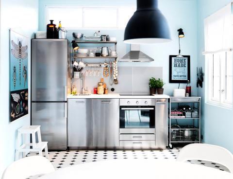 Wandfarben in der Küche