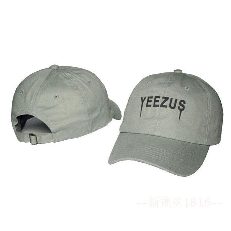 5a8a38905dfc5 Kanye West Yeezy Snapback Cap Yeezus Hat Strapback GORRA Adjustable Cotton Baseball  Dad Sunhat Street Hip Hop curved Bboy Bone