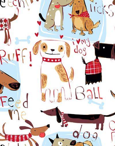 I Love My Dog Jpg 400 507 Pixels Dibujos De Perros Fondos De Gato Perros En Caricatura