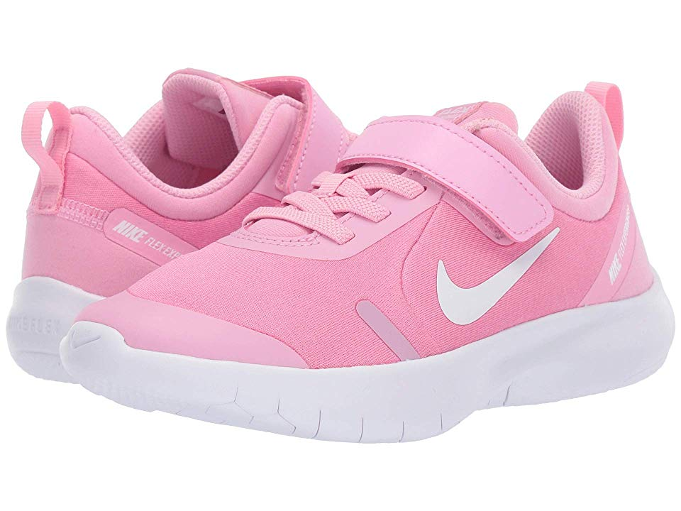 NIKE TENNIS CLASSIC (GS) Girl's Athletic Shoes WhitePink