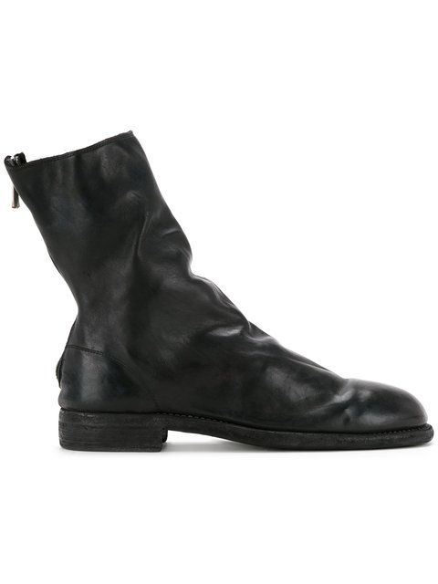 GUIDI back zip boots. #guidi #shoes #boots