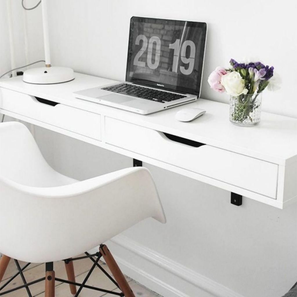 wie bauen eine Wand ein Schreibtisch Land home office Möbel ...