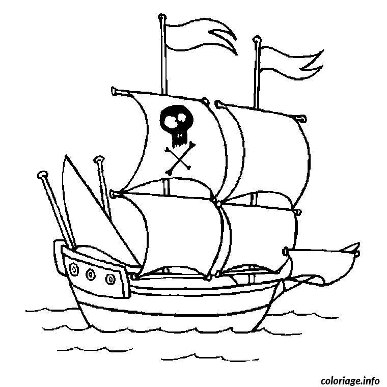 Idee 16 Dessin Bateau Pirate Coloriage Bateau Bateau Pirate Dessin Dessin De Bateau