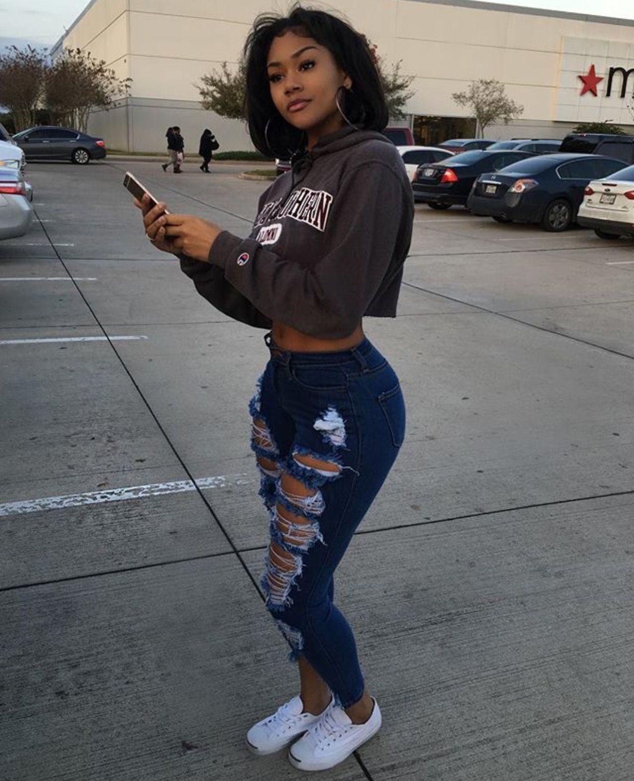 Pin by Ceola Cook on Black Girls | Pinterest | Fashion killa Black girls and Pretty girls