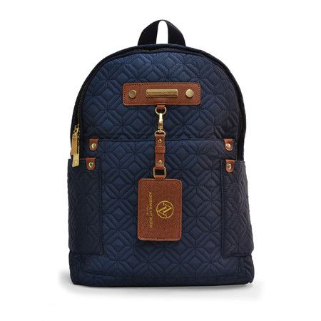 Aberdeen Backpack in Navy