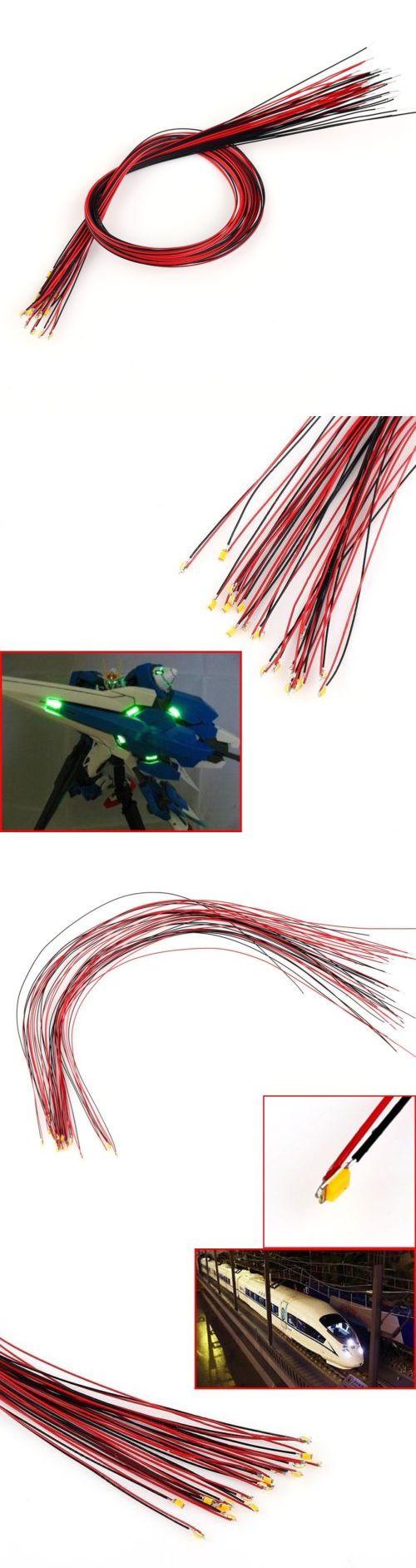 T0402WM 20pcs Pre-soldered micro litz wired leads Warm White