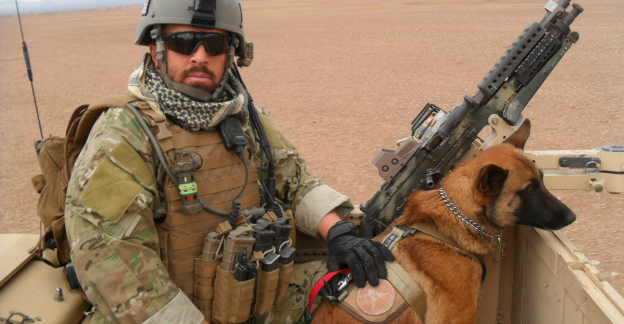 The Fight to Allow Military Working Dogs to 'Retire' on U