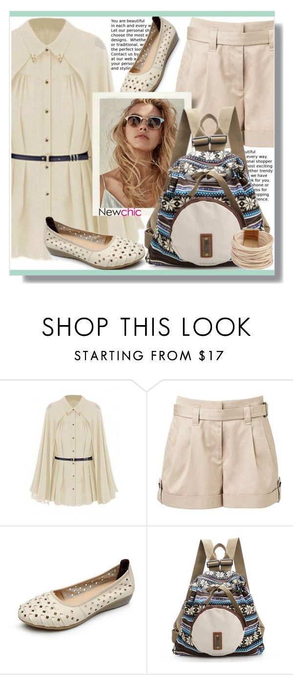 """""""NEWCHIC"""" by jenny007-281 ❤ liked on Polyvore featuring Witchery and Saachi"""