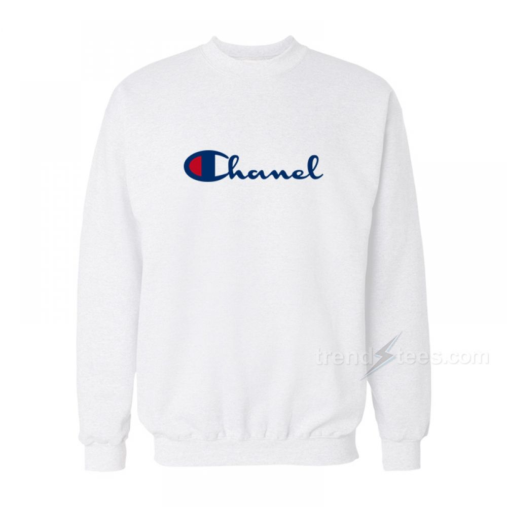 Chanel X Champion Parody Sweatshirts For Women s or Men s in 2019 ... 33bf8aa6e