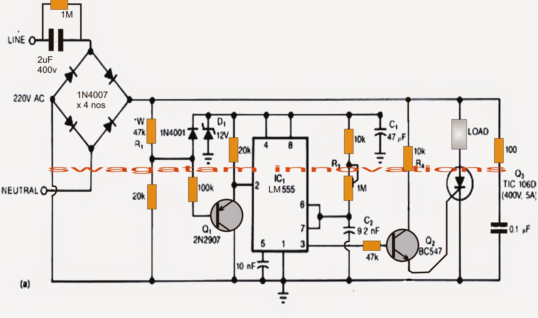 Free circuit diagram of power inverter