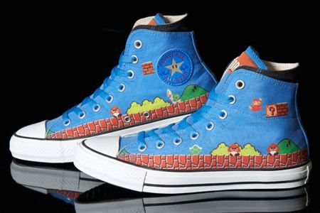 Based on the Chuck Taylor All Star model, Converse Company