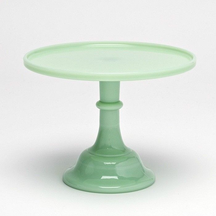 New Mosser Milk Glass Cake Stands