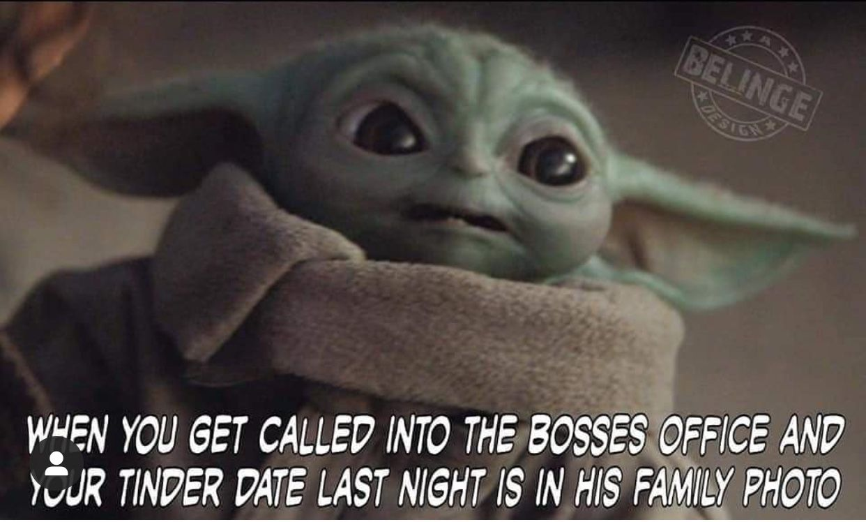 Pin By Patricia Rios On Baby Yoda Funny Memes Images Funny Memes Funny Relatable Memes