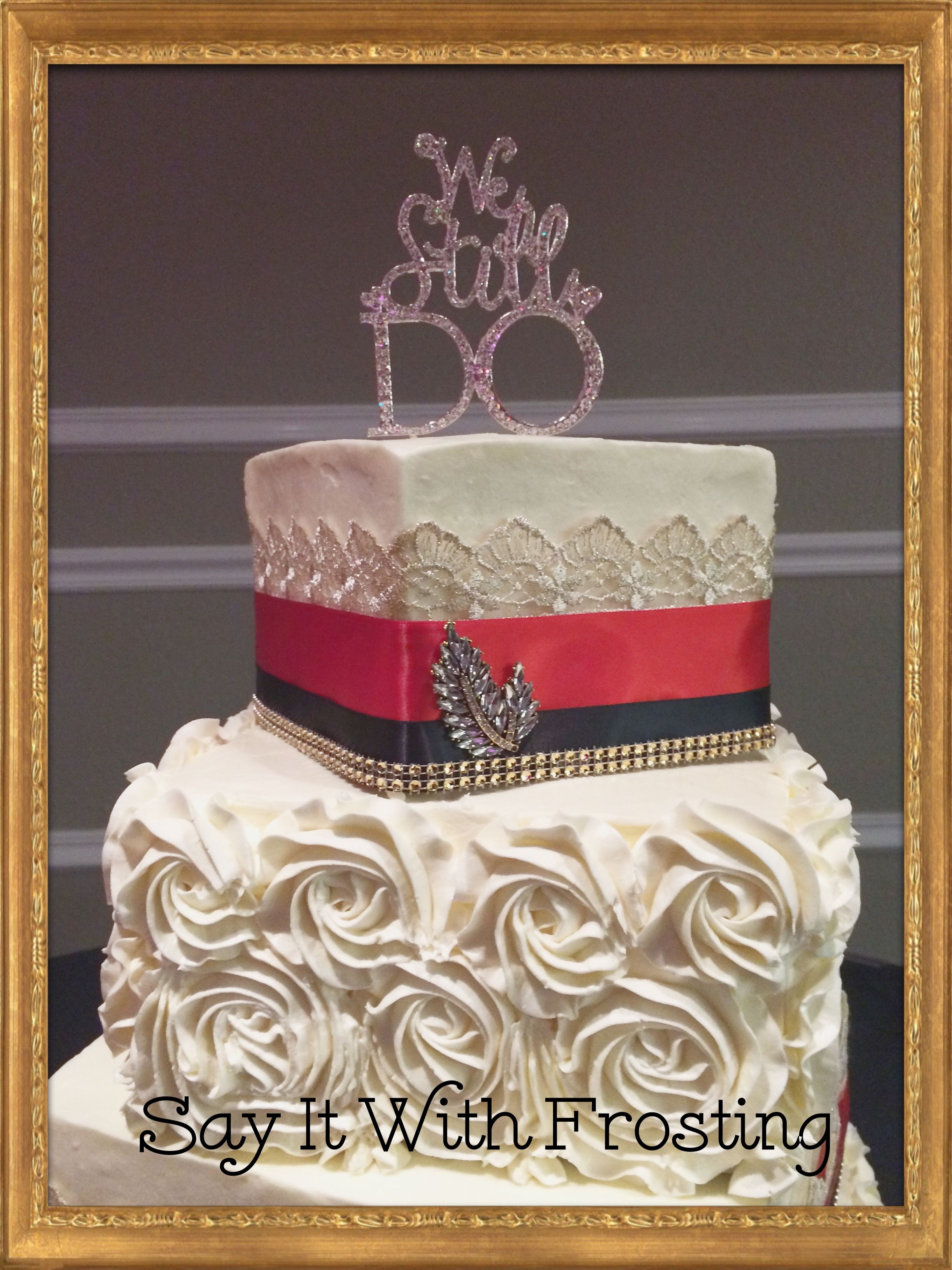 Pensacola Wedding Cakes Custom 50th Anniversary Cake For A Party At The New World