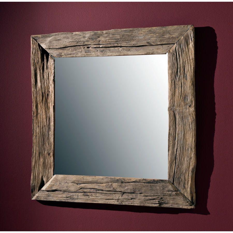 Badezimmerspiegel Holz