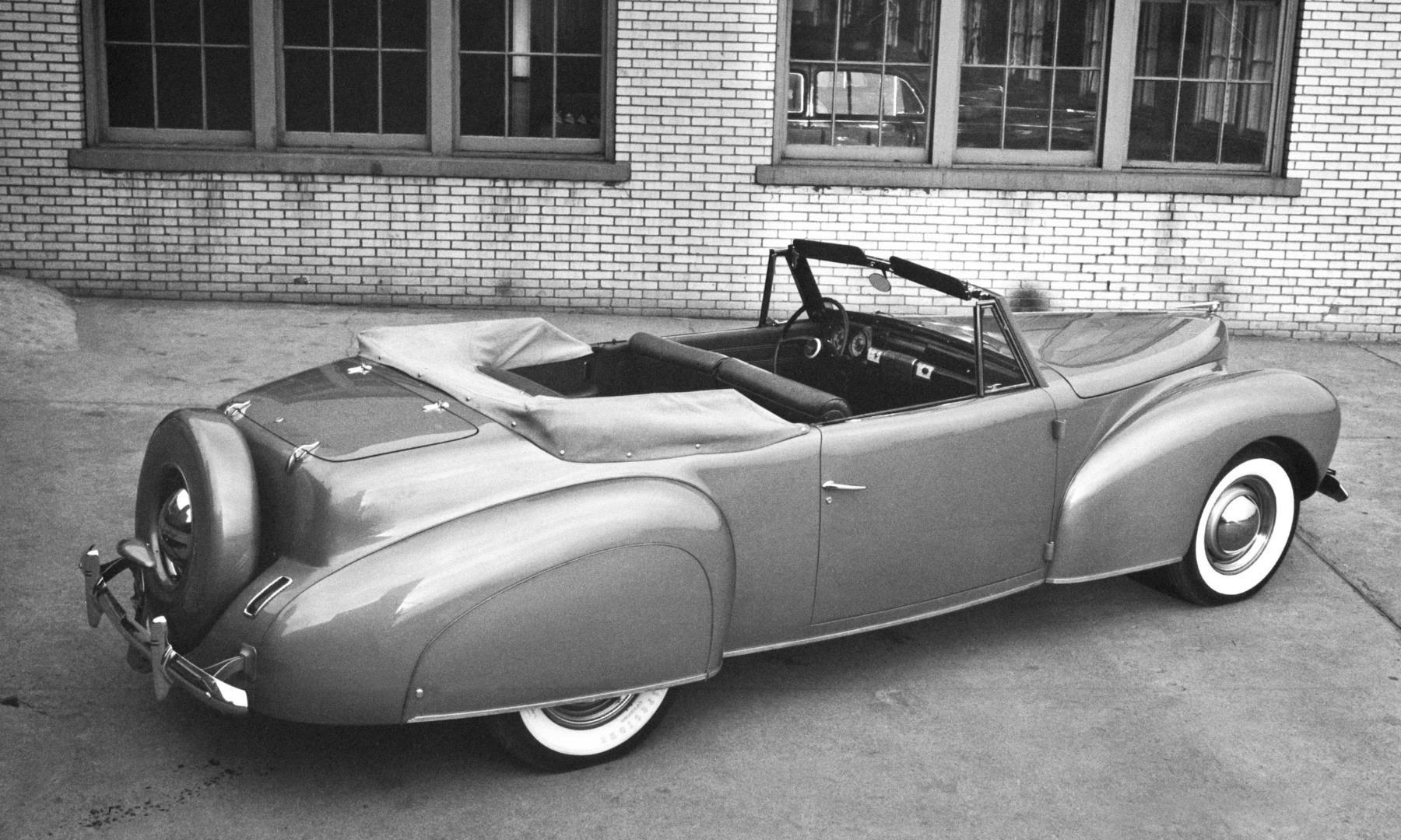 1940 Lincoln Zephyr Continental convertible | Automovilismo ...