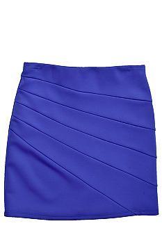Amy Byer Solid Bodycon Skirt Girls 7-16 #belk #kids #color