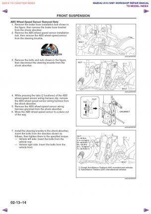 MANUAL DE TALLER/REPARACIÓN PROFESIONAL MAZDA 2 (Demio
