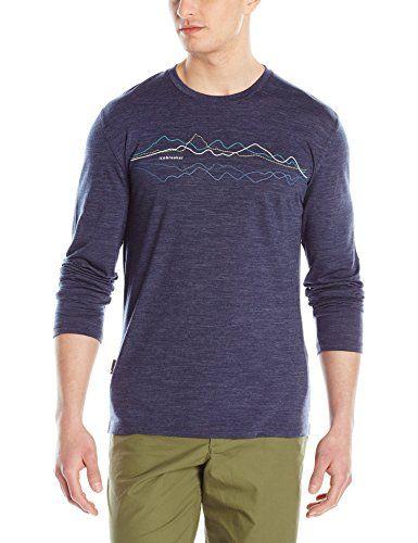 Icebreaker Merino Mens Mens Tech Lite Long Sleeve T-Shirt