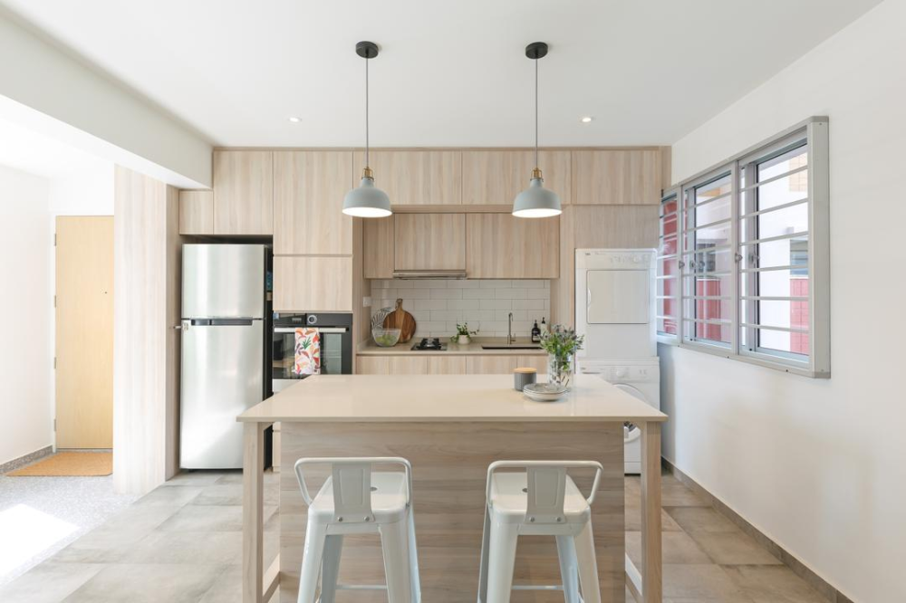 How A Family Self Designed A Timeless Aussie Style Hdb Home In 2020 Home Interior Design Firms Home Interior Design