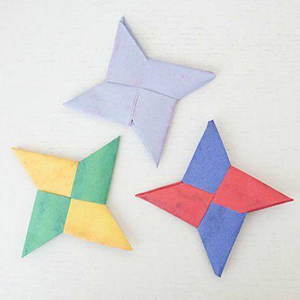 25 Easy Origami Ideas For Bigger Kids Ninja Star Origami Ideas