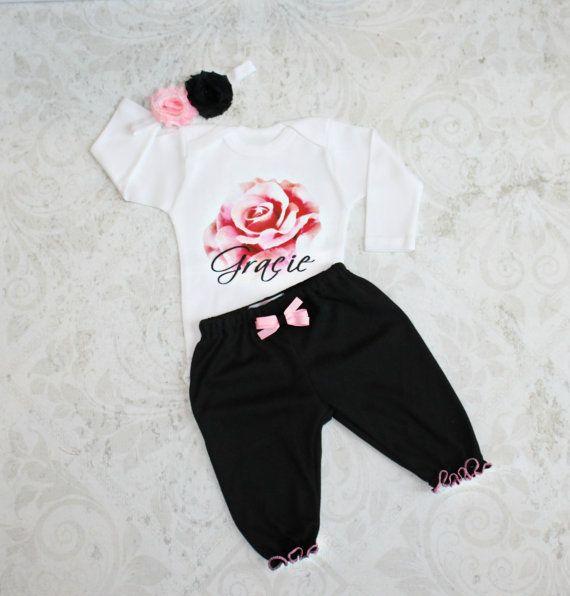 7d2ffba5078 Baby Girl Clothes Personalized Newborn Girl Take by sassylocks ...