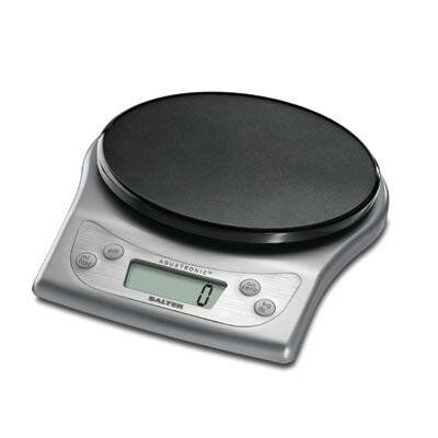Salter Aquatronic Electronic Scale In Stainless Steel Kitchen